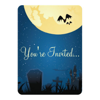 You're Invited Halloween Invitations