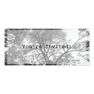 """You're Invited! Invitation. 4"""" X 9.25"""" Invitation Card"""