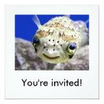 You're invited! 13 cm x 13 cm square invitation card