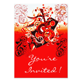 You're Invited-Journey of Music-Red_ Card