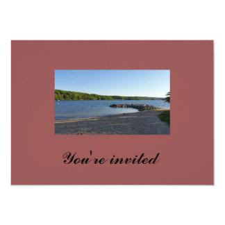 You're invited lake invitation