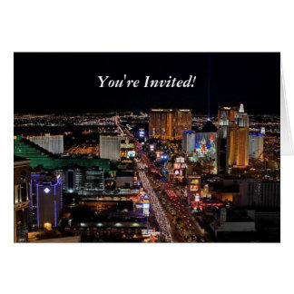 You're Invited! Las Vegas Card
