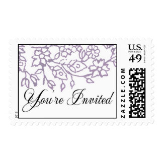 You're Invited (Lavender) Stamp