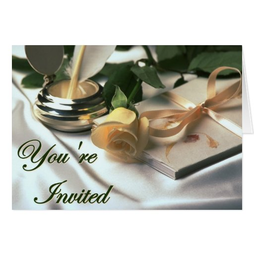 You're Invited notecards Greeting Cards