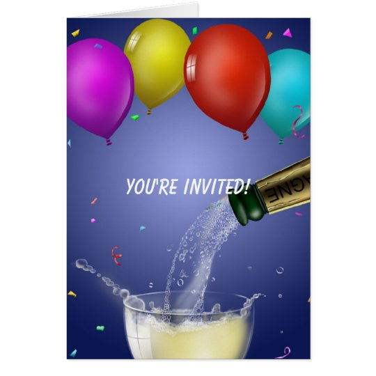 Youre Invited Party Card