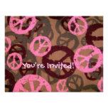 You're Invited!-Peace Signs Invite