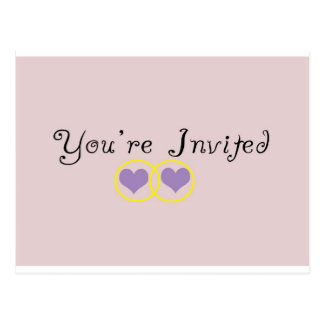 You're Invited Post Cards