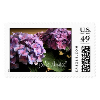 You're Invited! Postage Stamp