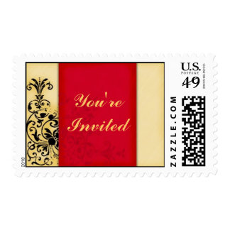 You're Invited Postage Stamp