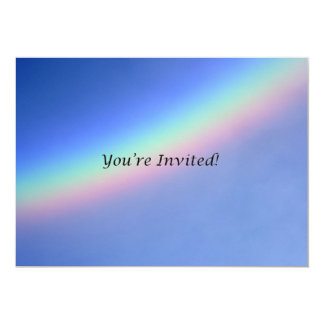 You're Invited Rainbow Invitation