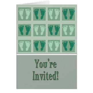 You're Invited Shower Card