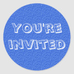 You're Invited Stickers