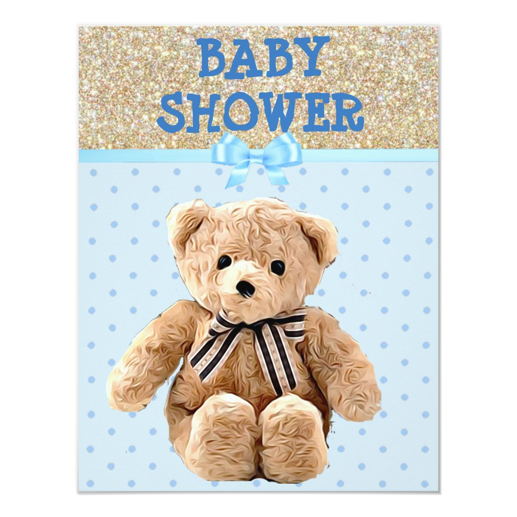 You're Invited, Teddy Bear Baby Shower Invitations