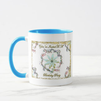 You're Invited To A Birthday Party Mug