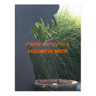 You're invited to a Halloween Mixer! Postcard