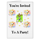 You're Invited To A Party! Greeting Card