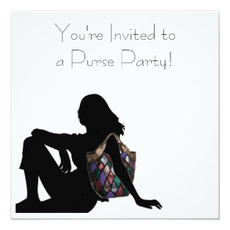 You're Invited to a Purse Party! Card
