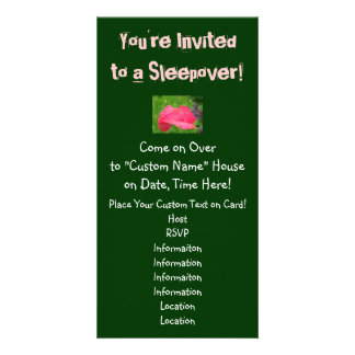 You're Invited to a Sleepover! Invitations Party Photo Cards