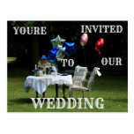 Your'e Invited to our Wedding Post Card. Postcard