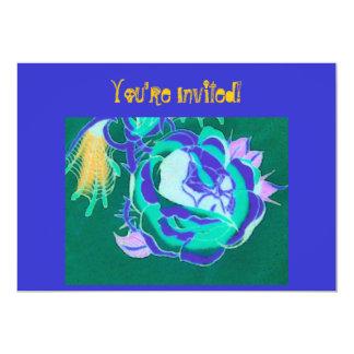 """You're Invited!-To Rock!-Invite-Skull Design 5"""" X 7"""" Invitation Card"""