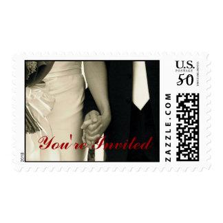 Youre Invited Wedding Postage