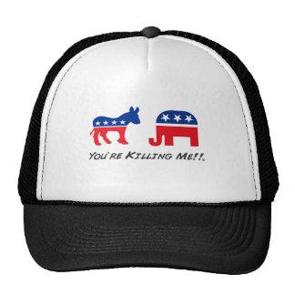 You're Killing Me!! Donkey-Elephanty Trucker Hat