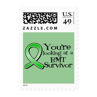 Youre Looking at a Bone Marrow Transplant Survivor Postage Stamps