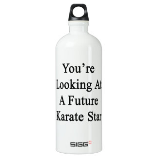 You're Looking At A Future Karate Star SIGG Traveler 1.0L Water Bottle