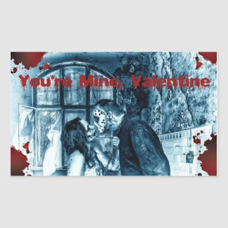 You're Mine Valentine Sticker