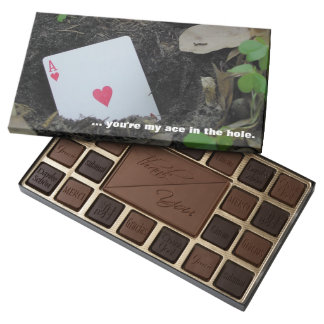 """""""you're my ace in the hole."""" Thank You CHOCOLATES"""