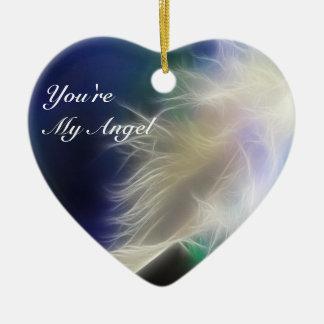 You're my Angel! Ceramic Ornament