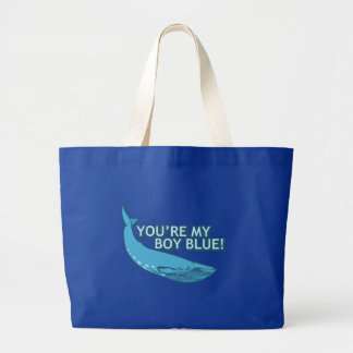 You're My Boy Blue! movie+gifts Jumbo Tote Bag
