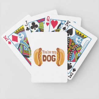 Youre My Dog Bicycle Playing Cards