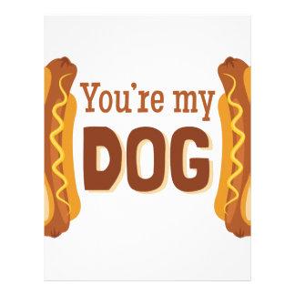 Youre My Dog Letterhead