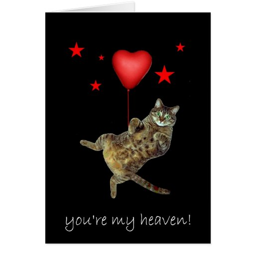You're my heaven! card