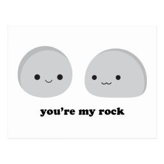 You're My Rock Postcard