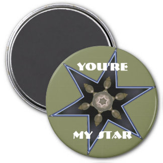 You're my star 3 inch round magnet