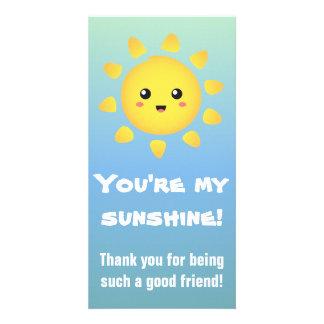 You're my Sunshine! Happy Sun Cartoon Card