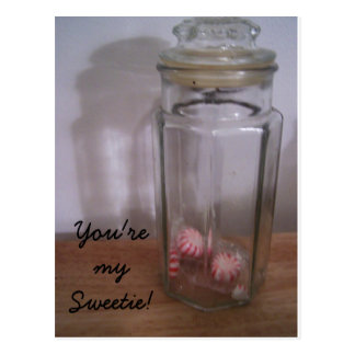 , You're my Sweetie! Postcard