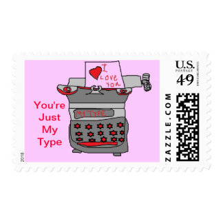 You're my type Postage stamps