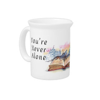 You're Never Alone... Pitcher