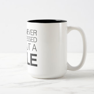 You're  Never Fully Dressed Without a Smile Two-Tone Coffee Mug