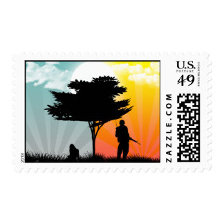 You're never too far postage stamp