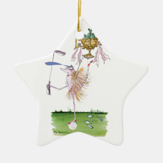 you're No.1 Double-Sided Star Ceramic Christmas Ornament