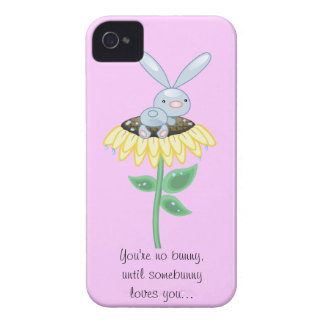 you're no bunny, unless somebunny loves you iPhone 4 cover