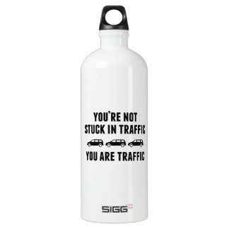 You're Not Stuck In Traffic. You Are Traffic. SIGG Traveler 1.0L Water Bottle