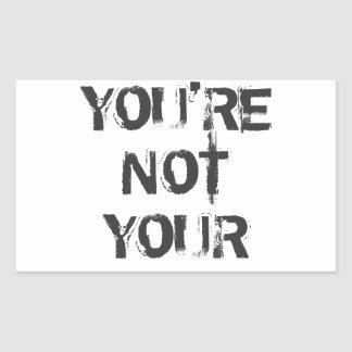 You're Not Your Stickers