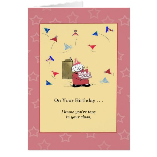 You're Number One with Me - Birthday Greeting Card