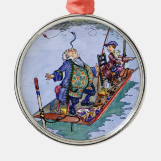You're Old Father WIlliam from Alice in Wonderland Metal Ornament