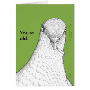Happy birthday ed cards greeting photo cards zazzle youre old funny old age humor birthday card bookmarktalkfo Image collections